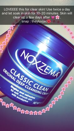 Noxzema Deep Cleansing Cream Beauty needs constant care from the inside and the outside. Here are some body care tips that will help you take better care of your skin outside too. Skin Care Regimen, Skin Care Tips, Skin Tips, Skin Care Routine For 20s, Skincare Routine, Skin Routine, Lip Scrubs, Tips Belleza, Facial Care
