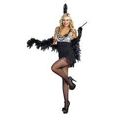 Sexy Jazz Diva Flapper Girl Women's Halloween Party Costume – USD $ 29.99