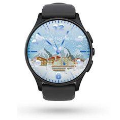Christmas Snow Watch Face Samsung Gear | Watch Faces met Uw naam - bedrijfsnaam