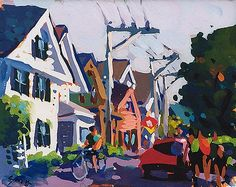Charles Sovek, Artist and Author | Favorites | Gouache Paintings