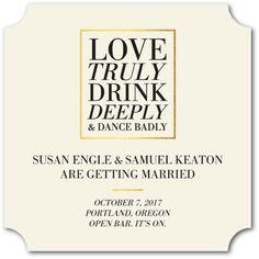 Love truly, drink de
