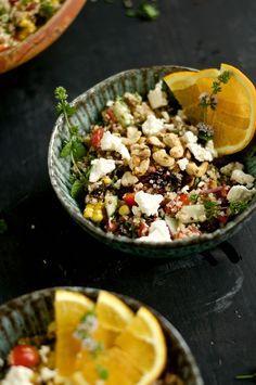 18. Quinoa Veggie Salad #healthy #recipes http://greatist.com/health/healthy-single-serving-meals