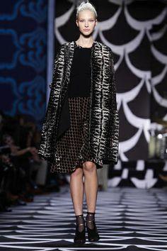Diane von Furstenberg Ready To Wear Fall Winter 2014 New York - NOWFASHION