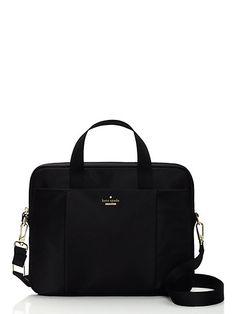 classic nylon commuter laptop bag - kate spade new york