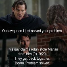 But was he bad?....I do not want Marion with someone bad....Of course this is Once he could change....