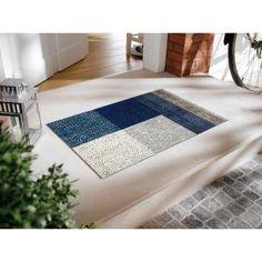 玄関マット おしゃれ マット ブロック柄の泥落とし屋外玄関マット 約75×120cm Bath Mat, Rugs, Yahoo, Home Decor, Products, Farmhouse Rugs, Decoration Home, Room Decor, Home Interior Design