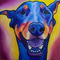 Doberman Pinscher by StudioSRV.deviantart.com on @deviantART