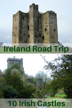 Travel the World: 10 Irish castles to visit on an Ireland road trip. #Ireland #castles #travel