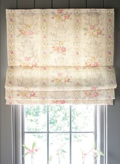 Oyster Christobel blinds have a distinct Swedish look about them, yet compliment the Kate Forman French influences beautifully. Country Cottage Bedroom, Cottage Bedrooms, Country Cottages, Cottage Chic, Kate Forman, Beautiful Blinds, Curtains With Blinds, Roman Blinds, Window Valances