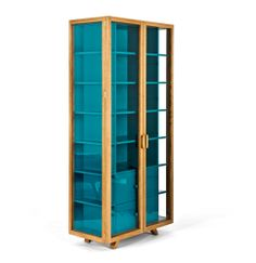Vitrina tall cabinet by Hierve Diseñeria