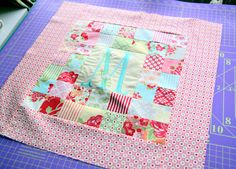 Patchwork Pillow Pattern and Tutorial - The Cottage Mama
