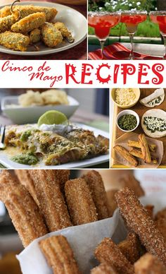 Cinco de Mayo recipe plan: Jalapeno poppers, Watermelon Margaritas, Sweet Pork Enchiladas, Cheese Flautas with Cilantro Pesto, and Churros