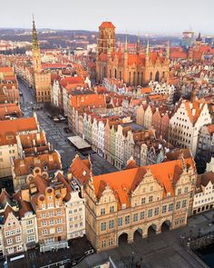 Top 10 Tourist Attraction To Visit in Poland - Tour To Planet Beautiful Places To Travel, Wonderful Places, Cool Places To Visit, Danzig, Gdansk Poland, Visit Poland, Poland Travel, Europe Photos, Wonderful Picture