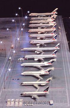 Air Lines, Airports, Scale Models, Alaska, Beast, Aviation, Aircraft, Usa, Airplanes