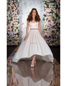 Herz-Ausschnitt Glamourös & Dramatisch Reißverschluss Brautkleider 2014
