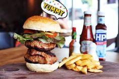 Big 3B Burger - Chomp The Comfort Café - Wat Sam Phraya - Bangkok