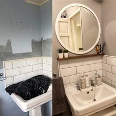 Bathroom Ideas, Mirror, Furniture, Home Decor, Decoration Home, Room Decor, Mirrors, Home Furnishings, Home Interior Design