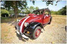 Retro 2CV for wedding transport in France www.awardweddings... via French Wedding Style