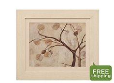 Abstract Autumn Tree I Framed Wall Art
