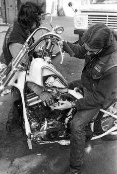 #Bikers #HellsAngels #Chopper