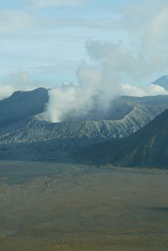 Mount Bromo on Java, Indonesia