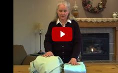 How To Fold A Fitted Sheet!! My grandmother taught me this years ago.