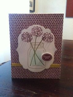 Perfectly Preserved Thank You card by Chanron - Cards and Paper Crafts at Splitcoaststampers