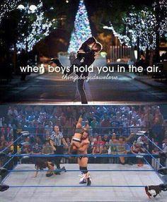 It's called #WWE magic