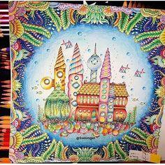 Lindo colorido do Oceano Perdido By @sseungei . #drawing #secretgarden #kohinoor #jardimsecreto #johannabasford #fabercastell #staedtler #mycreativeescape #coloringbook #polychromos #enchantedforest #lostocean #draw #coloring #pencil #florestaencantada #crayola #stabilo #colors#love#adultcoloring #creative#relax #colouring#colour#artist#arttherapy #oceanoperdido#boatardee