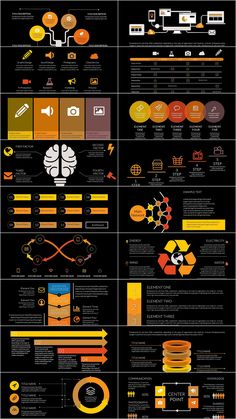 Social Network Tree PowerPoint charts Templates