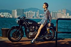 jia jing by man tsang for the south china morning post march 2014 Tom Ford 2014, Morning Post, Hot Bikes, Cafe Racer, Mesh Dress, Fashion Stylist, The Ordinary, Editorial Fashion, Vogue