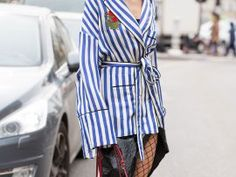 5 Striped Looks That Don't Include The Breton Top - Topshop Blog