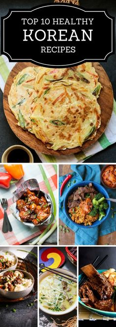 Healthy Korean Recipes
