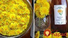 Elixír zdravia s vôňou jari: Vyskúšajte púpavové víno!