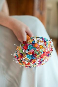 Multi Award Winning Crystal and Brooch Bouquet Designers - Welcome Tea Party Wedding, Next Wedding, Silk Flower Bouquets, Brooch Bouquets, Wedding Colors, Wedding Flowers, Crystal Bouquet, Rainbow Wedding, Diy Wedding Bouquet