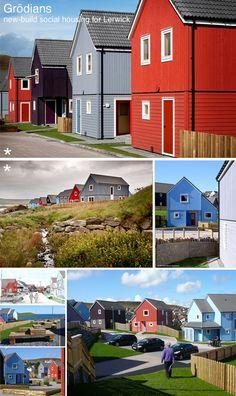 Grödians social housing, Shetland by Richard Gibson Architects