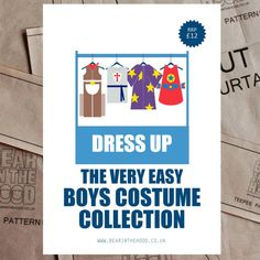 Boys Dress Up Collection sewing pattern