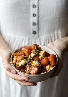 poutine de carottes