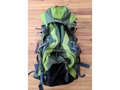 North Vybe Hiking Backpack of around 80 Liters. The North Vybe bag is good for long excursion because it is very comfy and very Backpack Reviews, Camping, Backpacks, Campsite, Backpack, Campers, Backpacker, Tent Camping, Backpacking