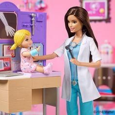 """🌸Pinterest @lauracindysuganda🌸 - Barbie (@barbie) on Instagram: """"It takes a truly compassionate person to care for people every day. What careers inspire you?…"""""""