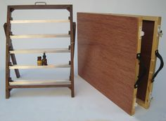Traveling Perfumer's Organ for Essential Oils, Perfumes, Tinctures, Supplements, for Trade Shows, and Markets. Display and Travel Case