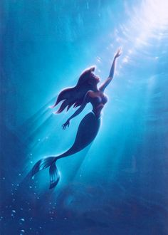 Textless Movie Posters – An awesome collection of movie posters without the texts (The Little Mermaid)