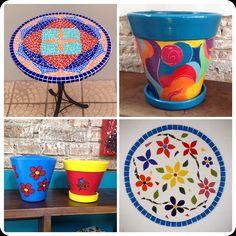 Por #verokraemer de #alemdaruaatelier , #vasosdecorativos e #mosaicart