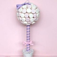 How to make a sweet tree via @Louise Winther Dueholm