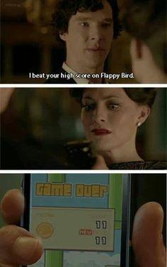 Bahahahahahaha!! ~Flappy birds ~Sherlock