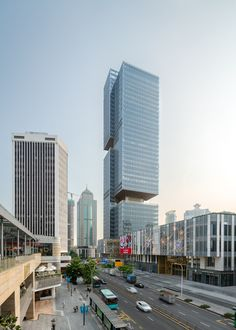 Shenzhen Prince Plaza / OMA | ArchDaily Rotterdam, Shenzhen Stock Exchange, Melbourne, Industrial Fabric, Tower House, Rooftop Garden, Sea World, Contemporary Architecture, Architecture Design