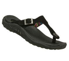 SKECHERS Women's Reggae - Soul Beats Comfort Sandals( I want some new sketchers flip flops for summer, these are just examples)