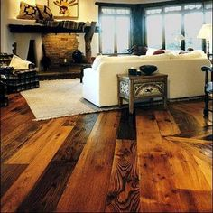 flooring of choice - contrast is beautiful