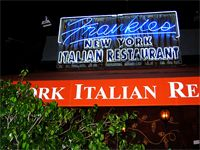 LA: Frankie's on Melrose