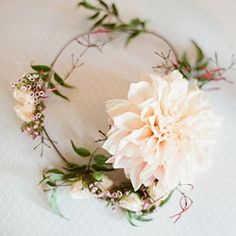 must have. really want us to have matching ones for a photo.   Romantic and sweet peach flower girl